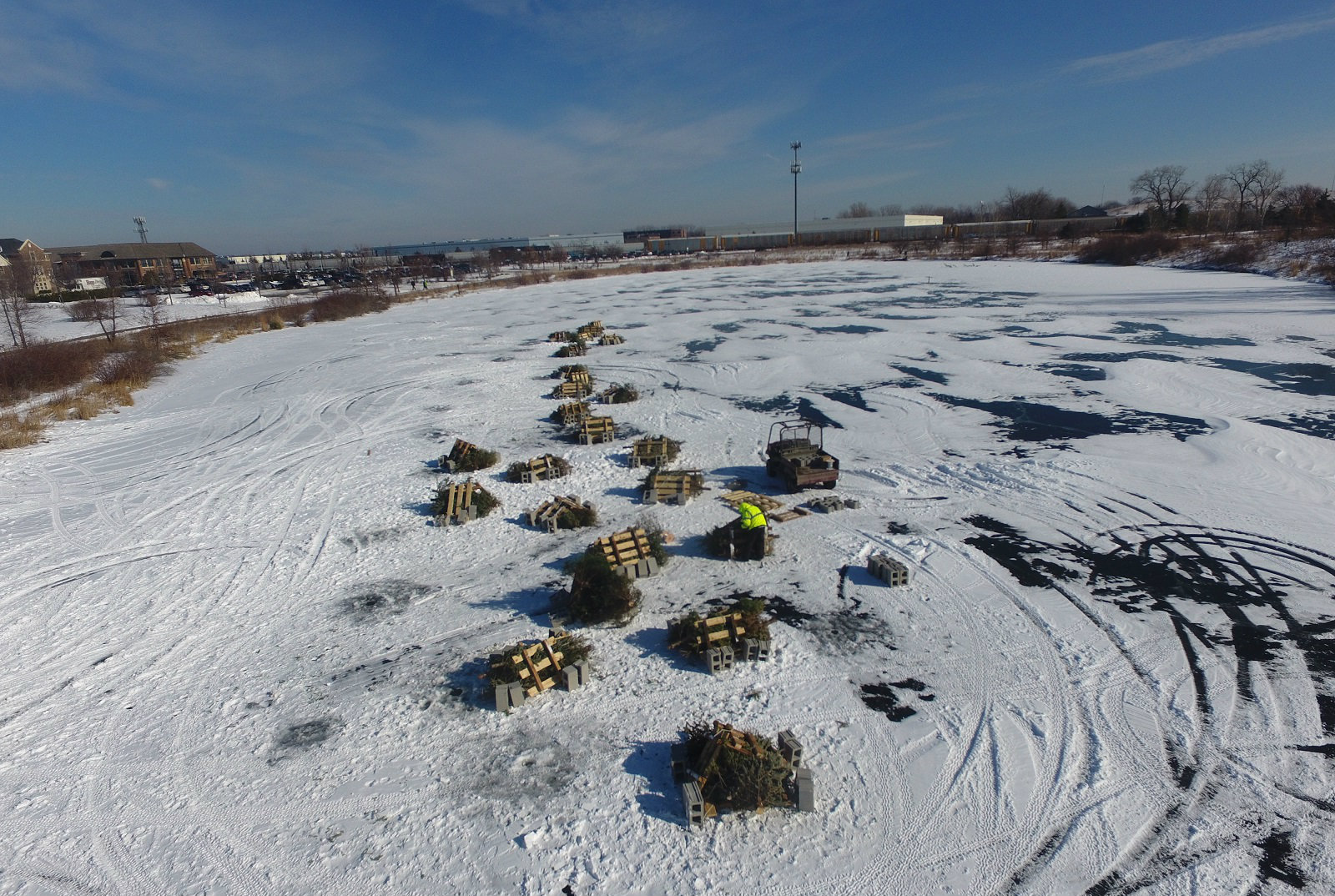 Recycle Christmas Tree Northwest Subrbs 2020 Discarded Christmas Trees Recycled In Unusual Way | Journal