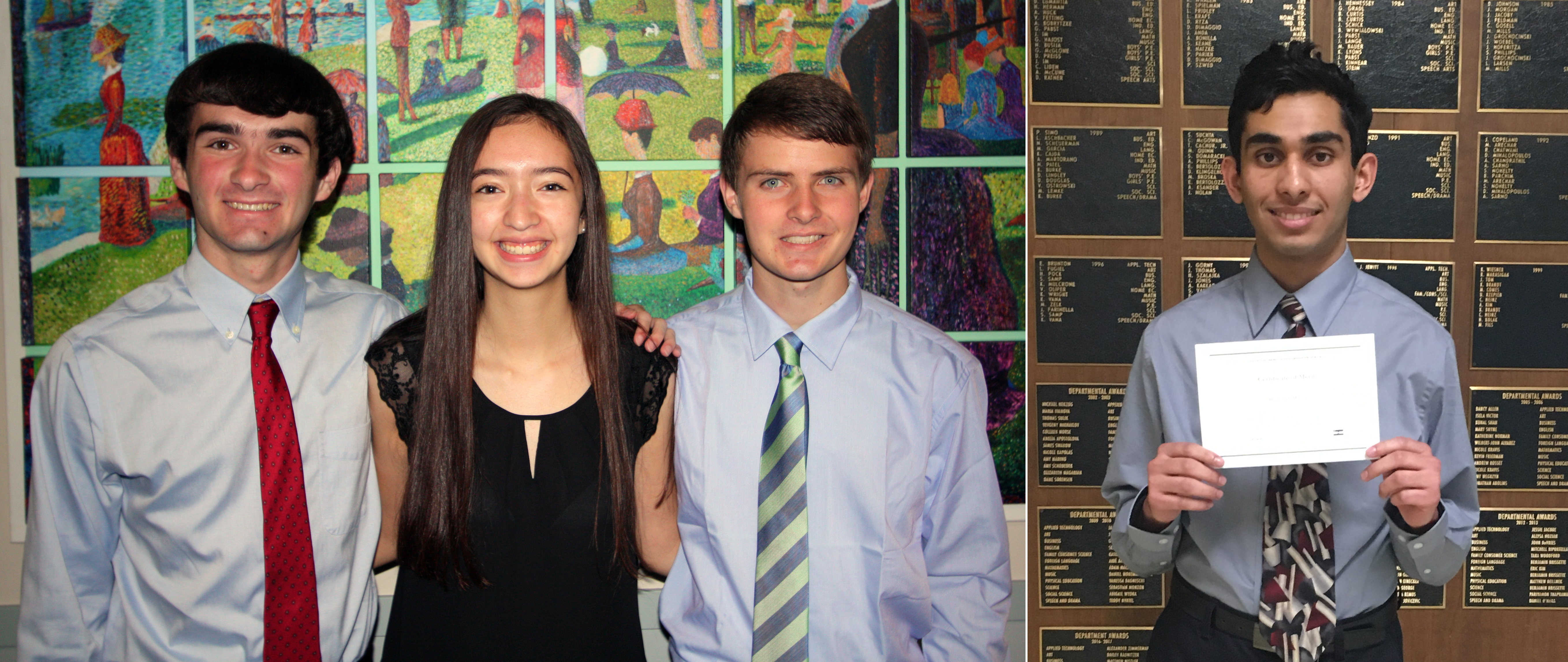 Four Maine 207 Students Honored As National Merit Finalists