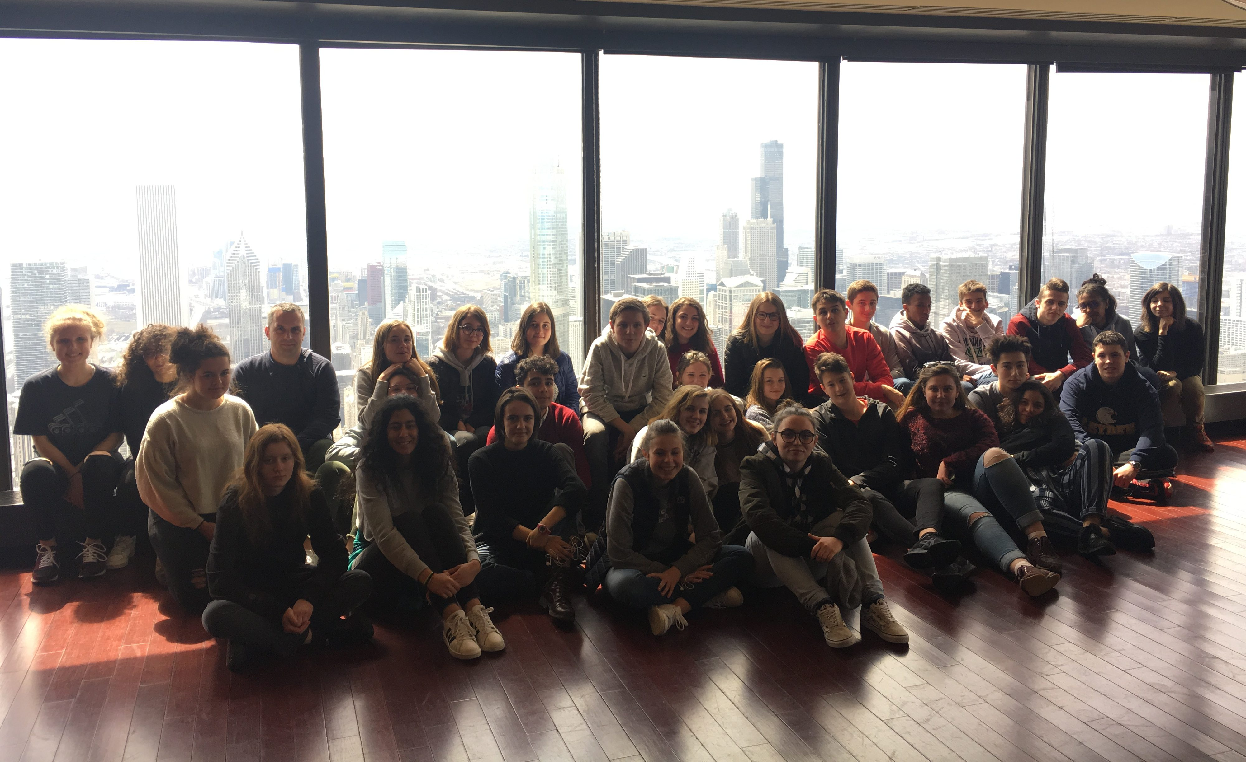 French Foreign Exchange Students Say Bonjour To East West Leyden