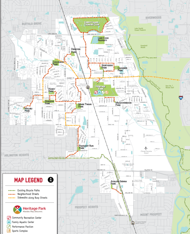 New Map Makes It Easier For Bicyclists To Get Around Wheeling ...