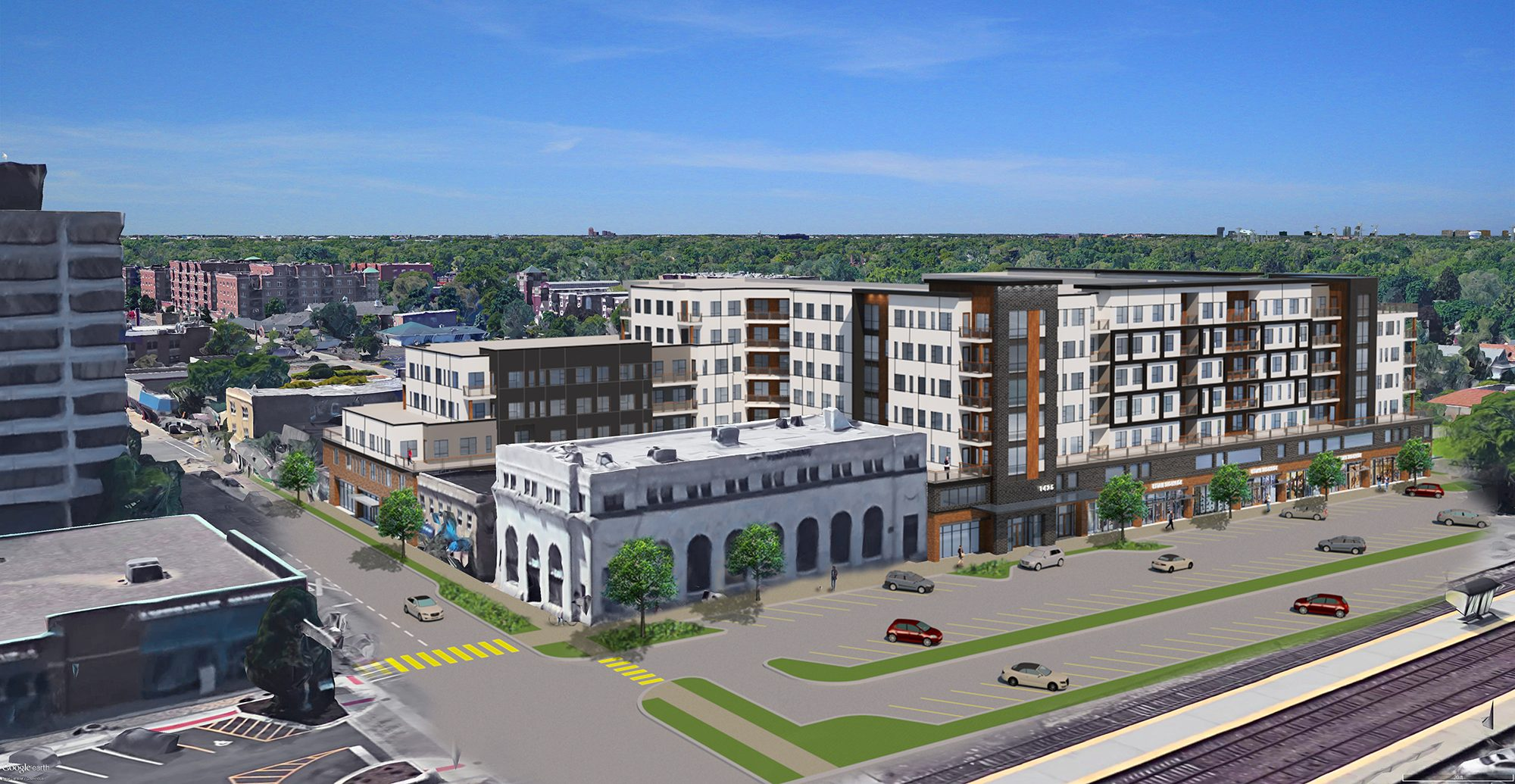 Des Plaines Gives Initial Ok To Apartment Project