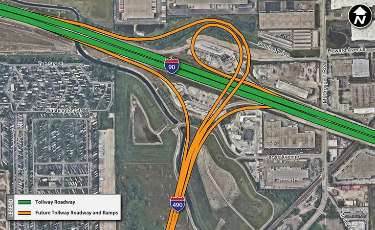 Des Plaines Oasis To Close Next Week For I-490 Project | Journal ...