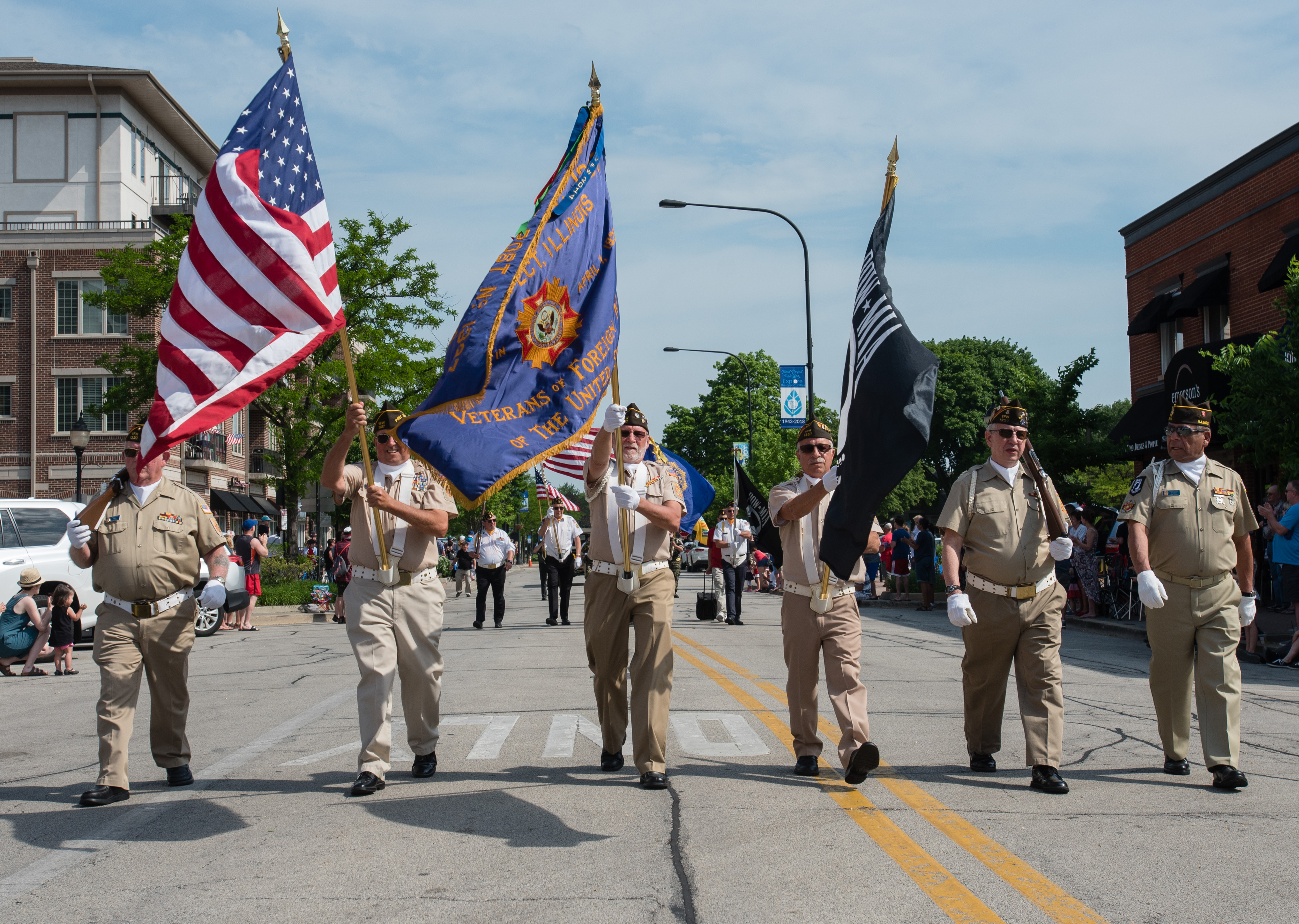 Image result for memorial day parade mount prospect