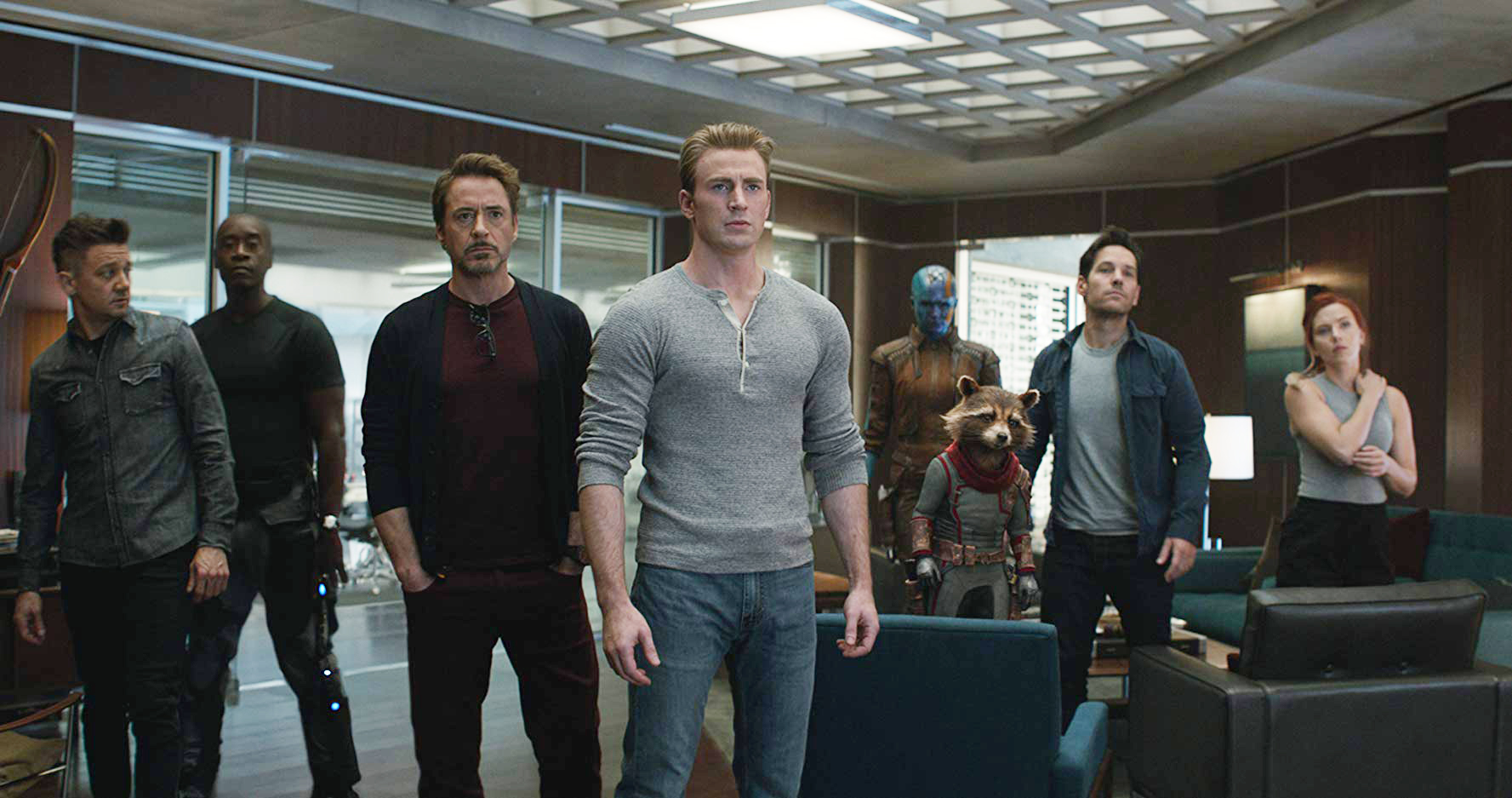 Movie Scene Endgame Or Is It Either Way A For Avengers