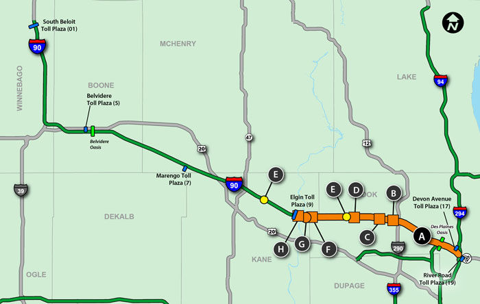 Jane Addams Tollway Construction Ending | Journal & Topics Media Group